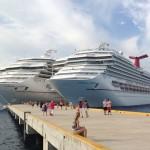 西カリブ海クルーズで乗った船
